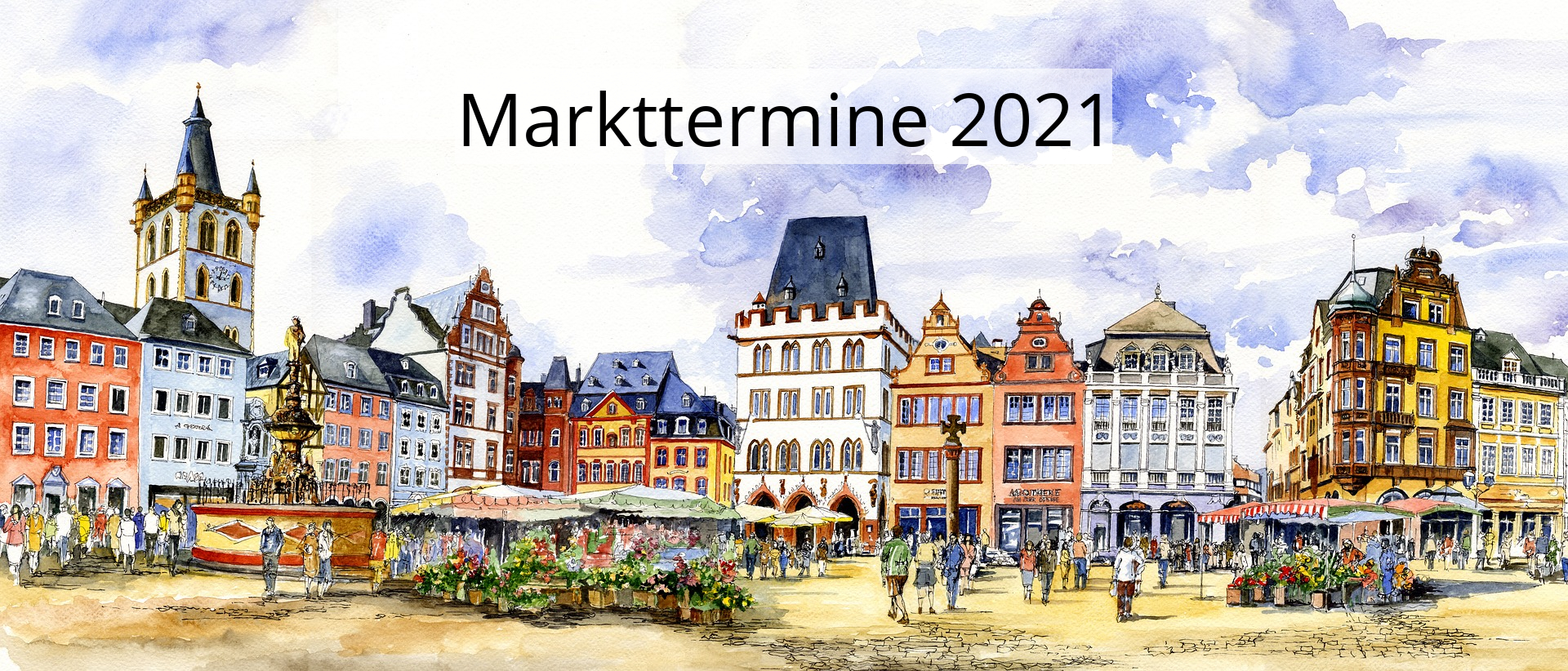 Markttermine Bügelbrettbezüge Eisele 2021